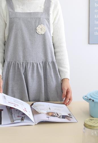 라떼 멜빵앞치마(2style) [제작 대량 도매 로고 인쇄 레이저 마킹 각인 나염 실크 uv 포장 공장 문의는 네이뽕]