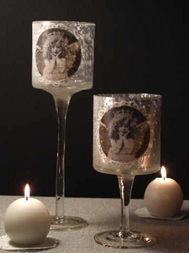 천사 촛대-2size [제작 대량 도매 로고 인쇄 레이저 마킹 각인 나염 실크 uv 포장 공장 문의는 네이뽕]