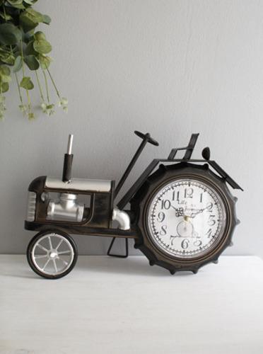 빈티지카 탁상시계-큰 바퀴 (0082) [제작 대량 도매 로고 인쇄 레이저 마킹 각인 나염 실크 uv 포장 공장 문의는 네이뽕]