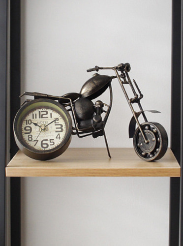 빈티지 오토바이 시계-2type [제작 대량 도매 로고 인쇄 레이저 마킹 각인 나염 실크 uv 포장 공장 문의는 네이뽕]