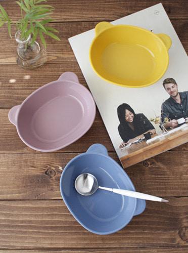 파스텔 실리콘 간식그릇- 3color [제작 대량 도매 로고 인쇄 레이저 마킹 각인 나염 실크 uv 포장 공장 문의는 네이뽕]