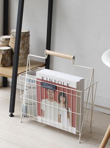 잡지 및 다용도 꽂이 - 2color [제작 대량 도매 로고 인쇄 레이저 마킹 각인 나염 실크 uv 포장 공장 문의는 네이뽕]