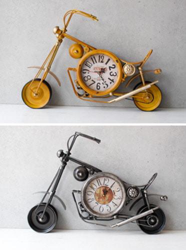 빈티지 오토바이 시계 (3703) - 3color [제작 대량 도매 로고 인쇄 레이저 마킹 각인 나염 실크 uv 포장 공장 문의는 네이뽕]