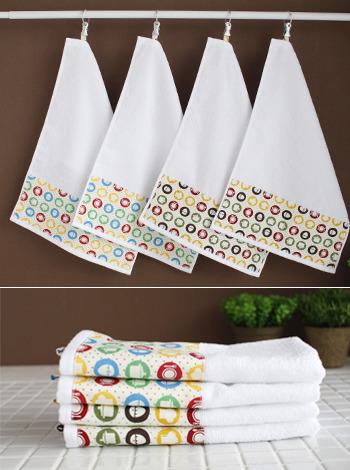 쿠킹 주방수건2Pset (2color) [제작 대량 도매 로고 인쇄 레이저 마킹 각인 나염 실크 uv 포장 공장 문의는 네이뽕]