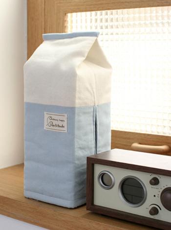 우유각 티슈커버-밀크 [제작 대량 도매 로고 인쇄 레이저 마킹 각인 나염 실크 uv 포장 공장 문의는 네이뽕]