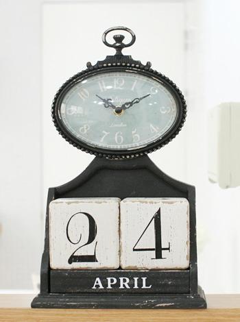 달력블럭 탁상시계 [제작 대량 도매 로고 인쇄 레이저 마킹 각인 나염 실크 uv 포장 공장 문의는 네이뽕]